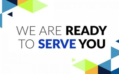 We are back to serve you